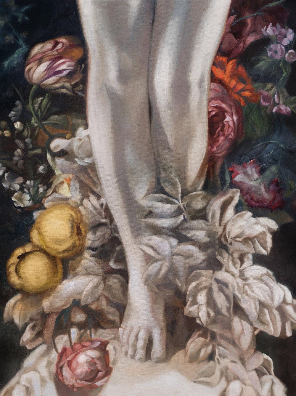 Awakening  20 x 15 in (51.2 x 38.3 cm) Oil on canvas 2018