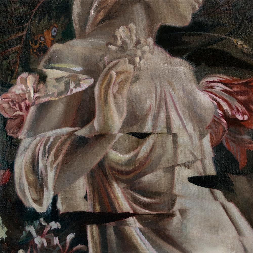 Adornment  12 x 12 inches (30.5 x 30.5 cm) Oil on canvas 2018