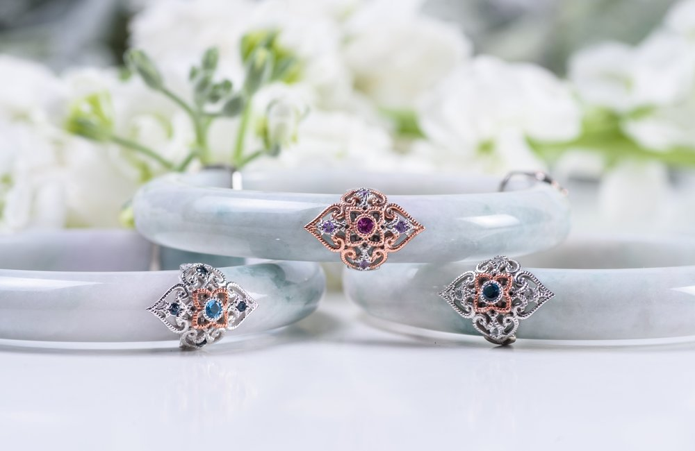 The Peranakan Lace Bangle