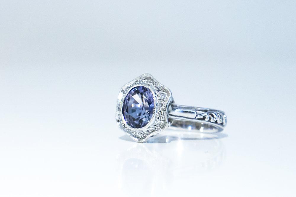 Choo Yilin Bespoke Engagement Ring
