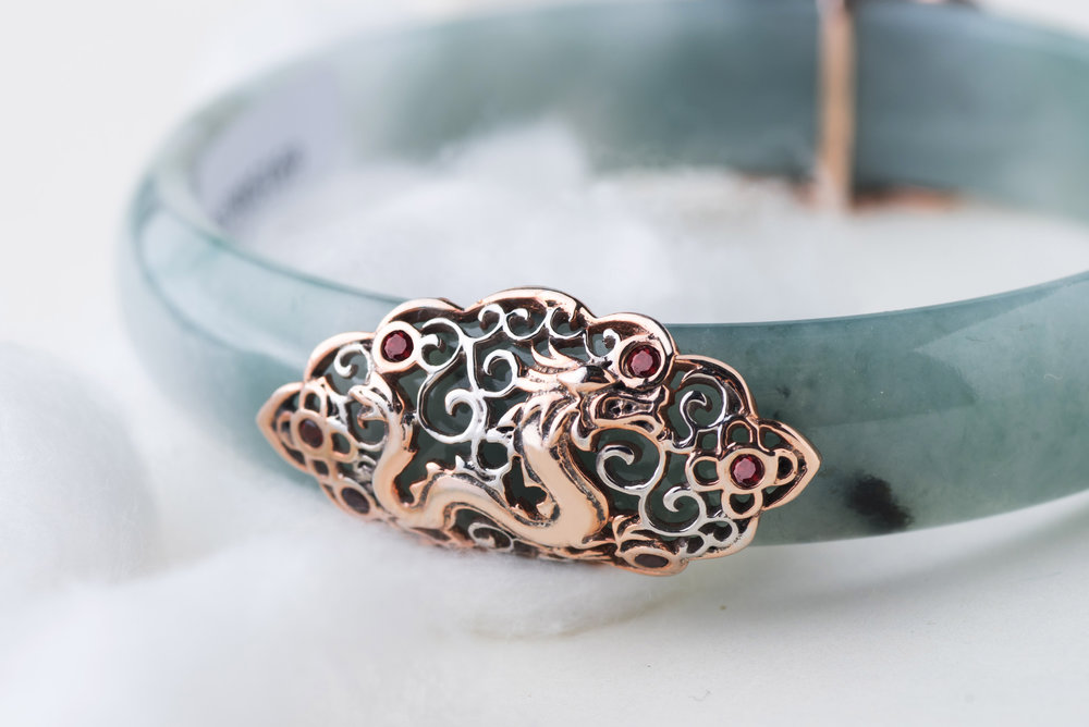The Choo Yilin Dragon Jade Bangle.
