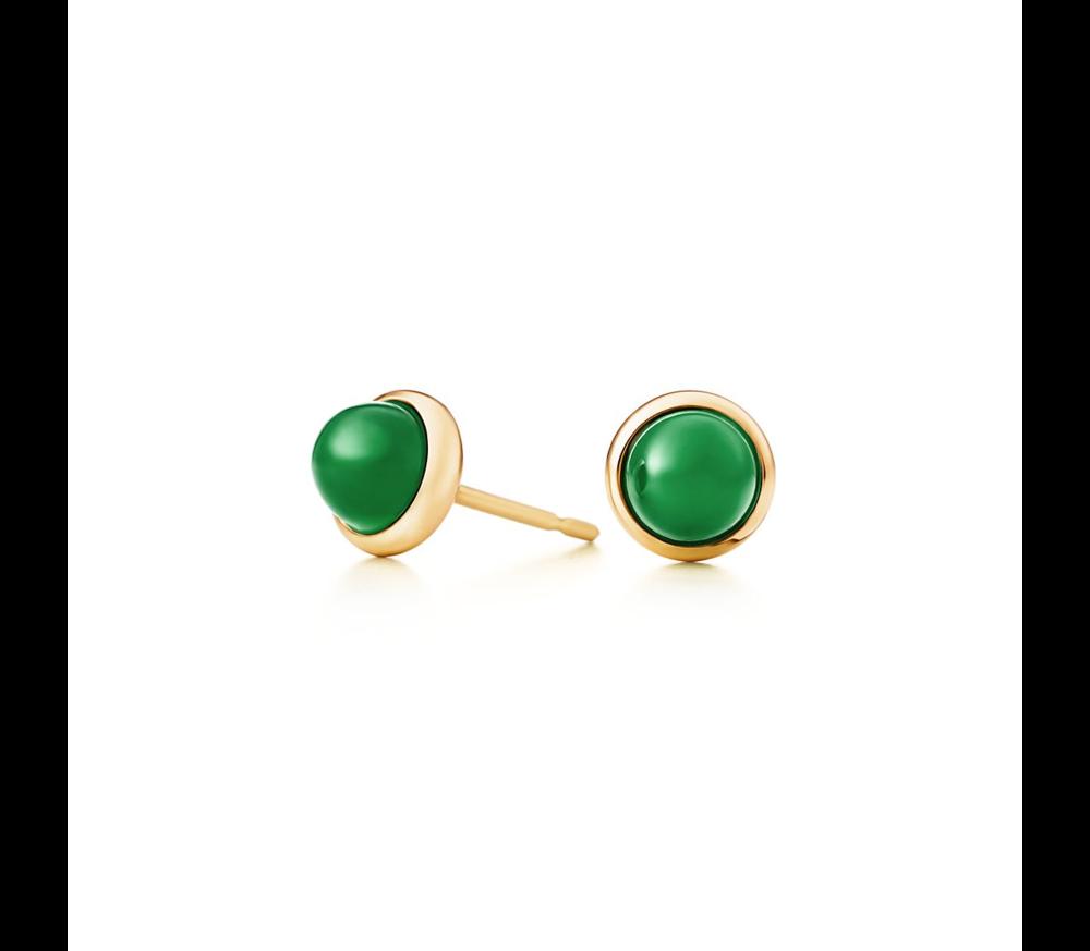 Tiffany & Co. Cabochon Earrings