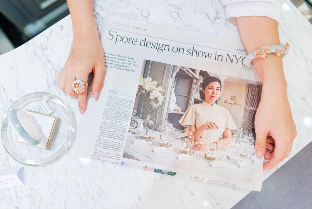 Choo Yilin representing Singapore design at Asia Society in New York City