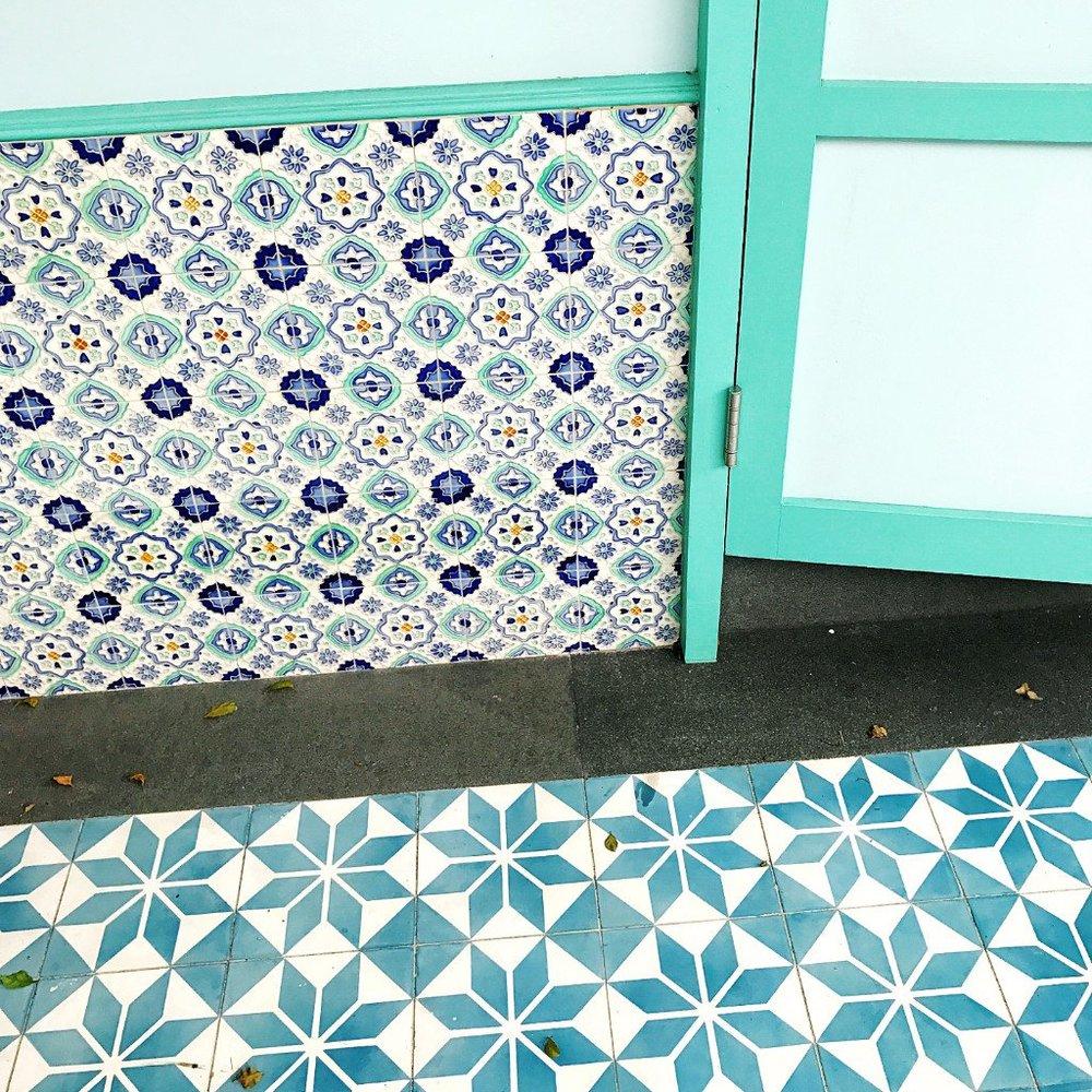 Peranakan Tiles at Blair Road