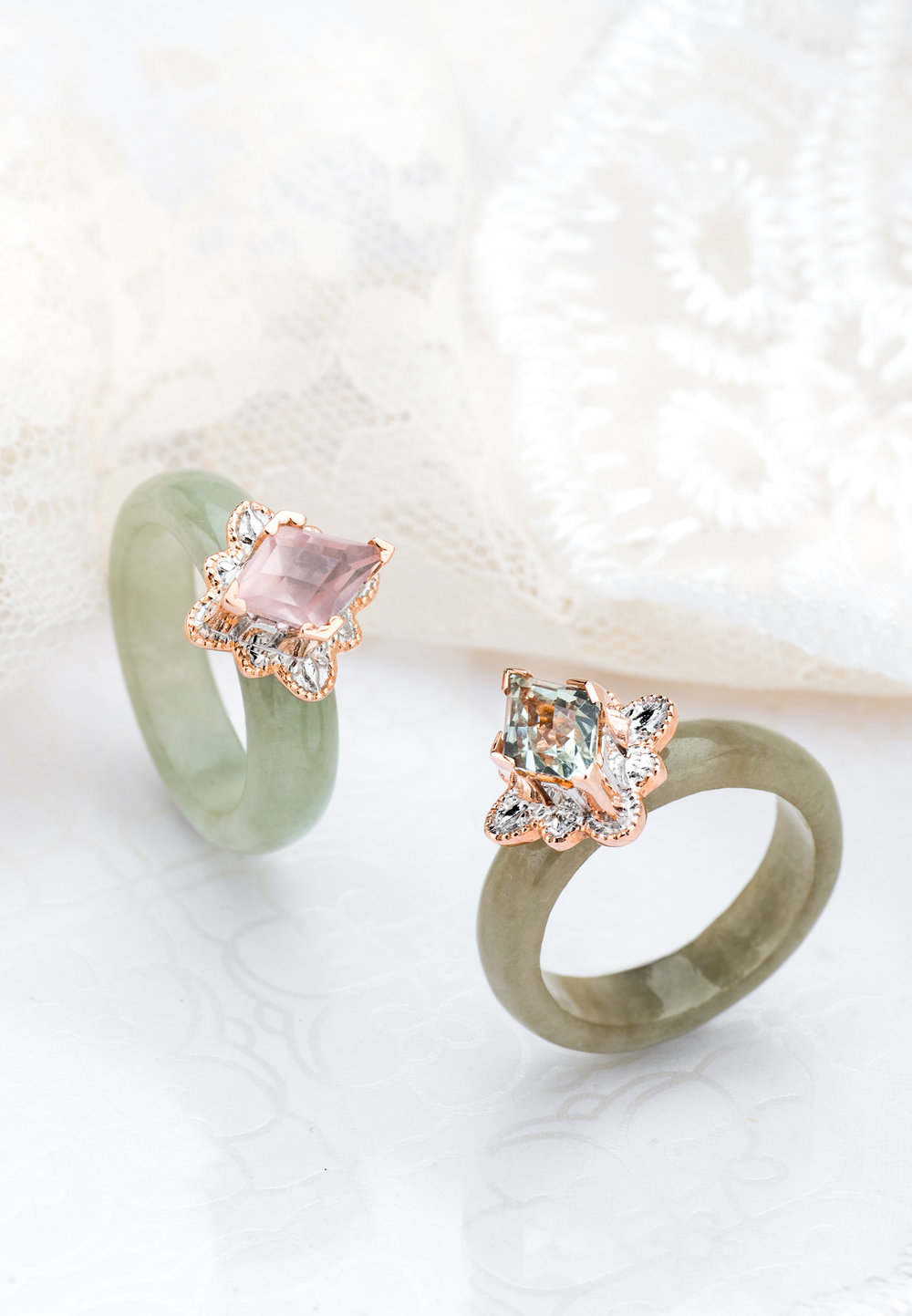 Choo Yilin Kebaya Gemstone Ring