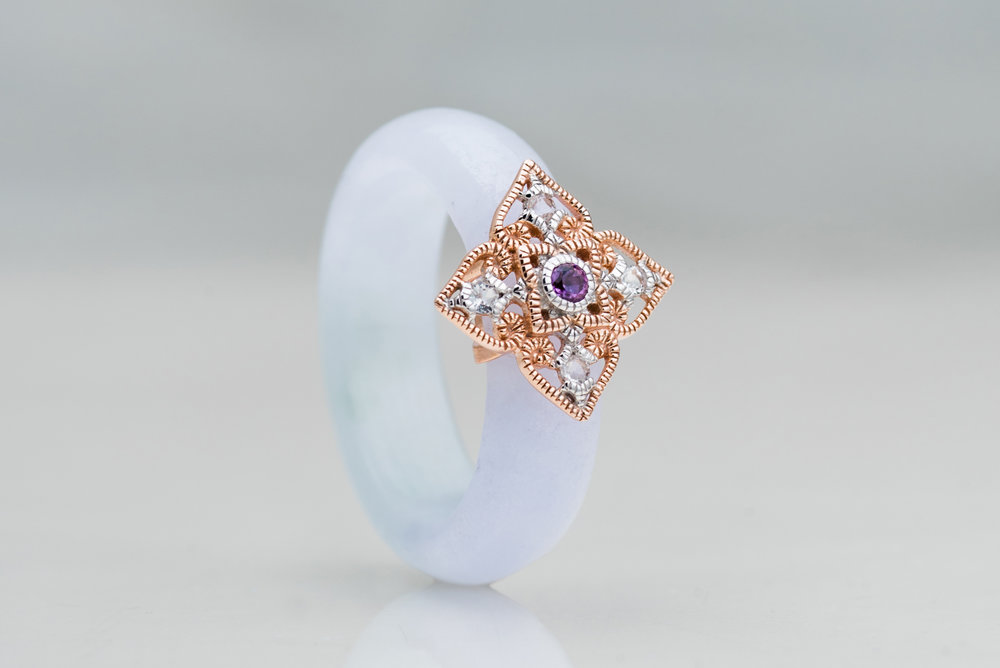 Choo Yilin Peranakan Lace Ring