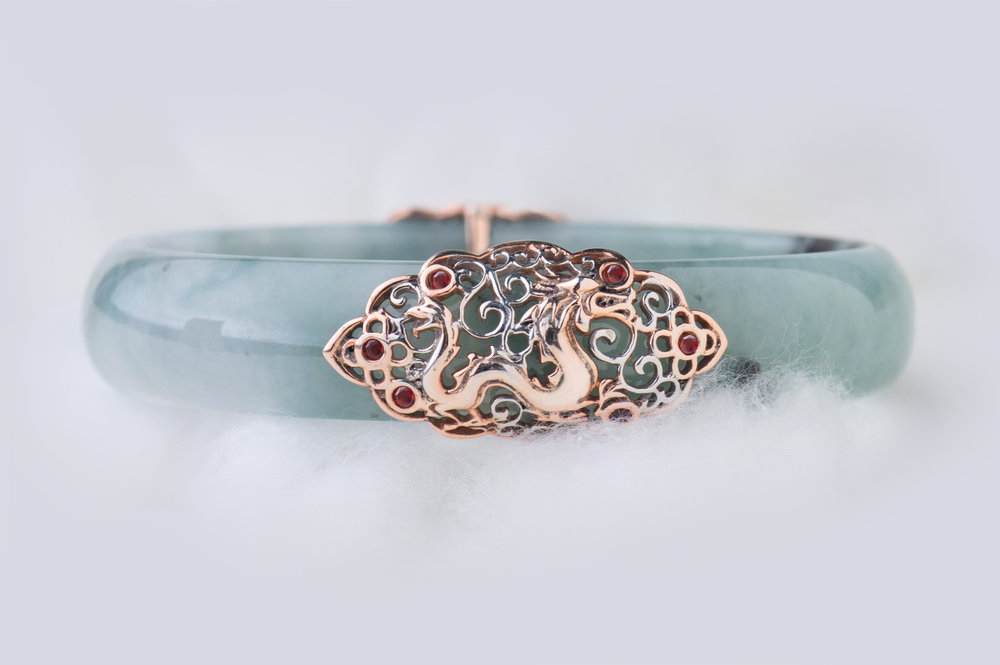 Choo Yilin Dragon Jade Bangle