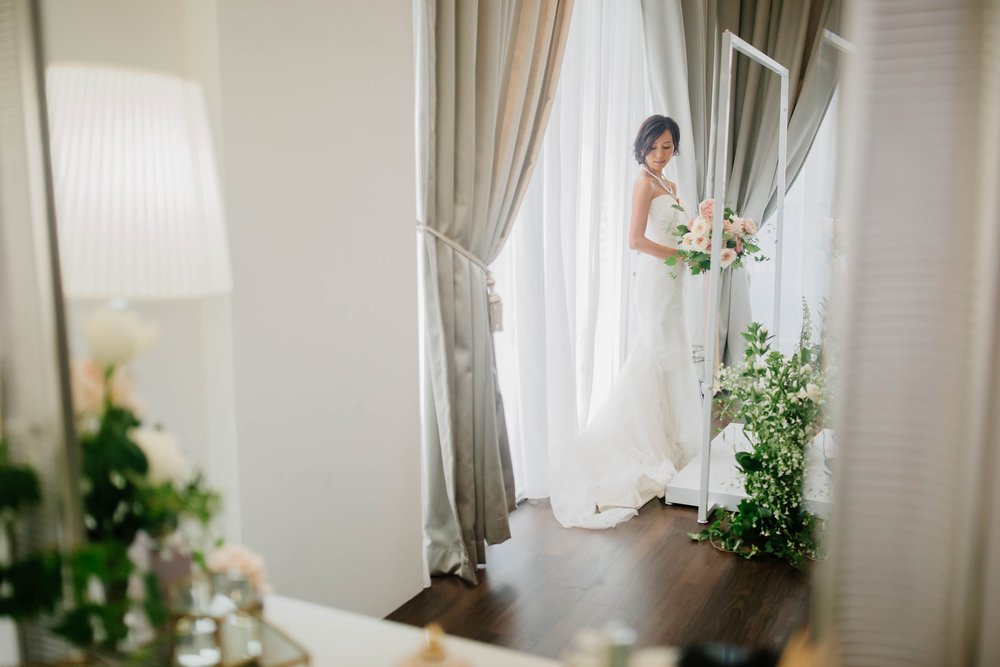 Behind the scenes of the Choo Yilin X Melissa Celestine Koh Wedding Styled Shoot