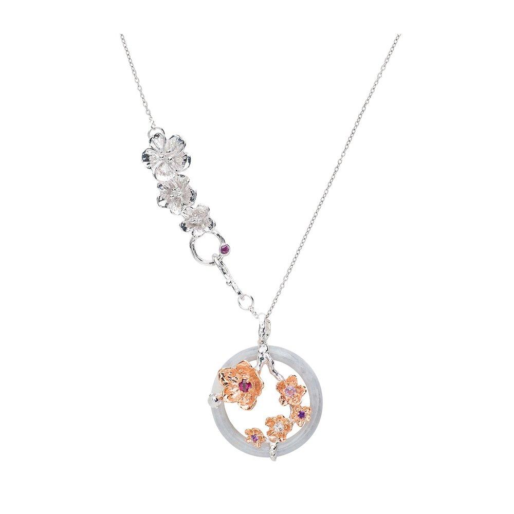 Choo Yilin Sakura Garland Necklace