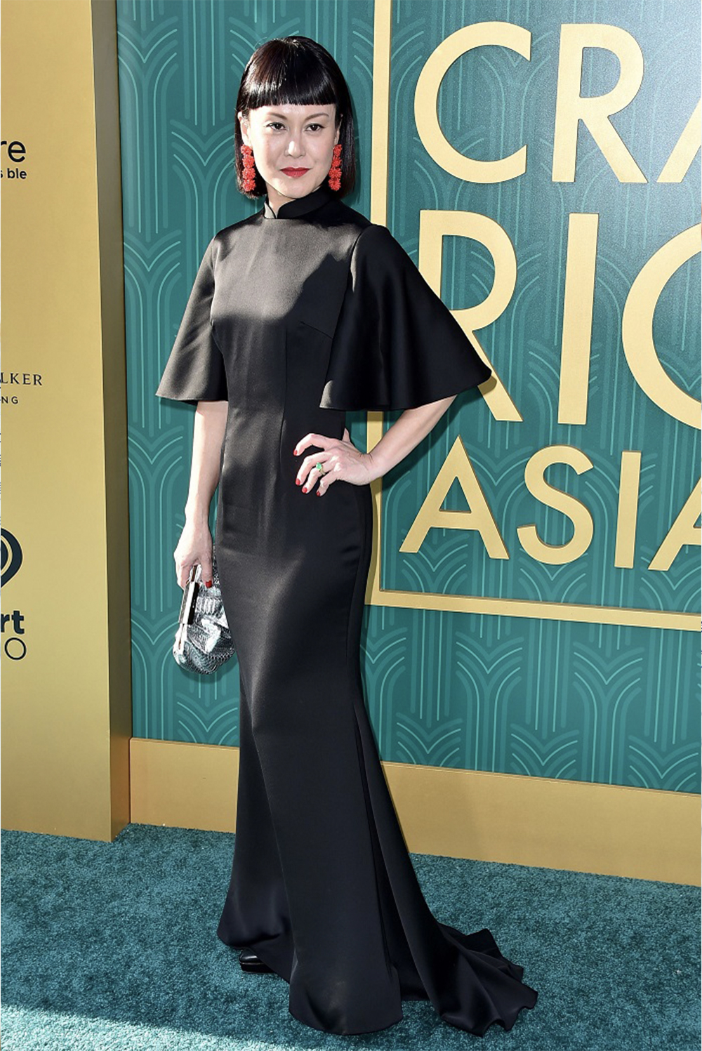 Janice Koh Wears Choo Yilin for Crazy Rich Asians, LA Premiere