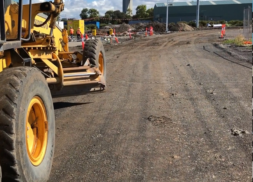 PORT MELBOURNE ACCESS ROAD PAVEMENT DESIGN - Rock Solid Earth was commissioned to assess the in-situ pavement for an access road to Port Melbourne and provide recommendations on the subsequent pavement design.