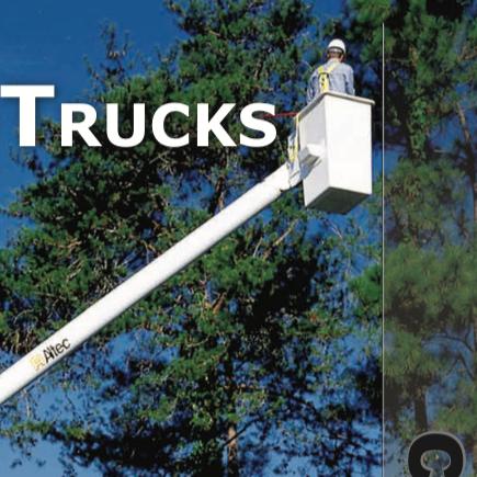 TREE TRIMMER TRUCKS -