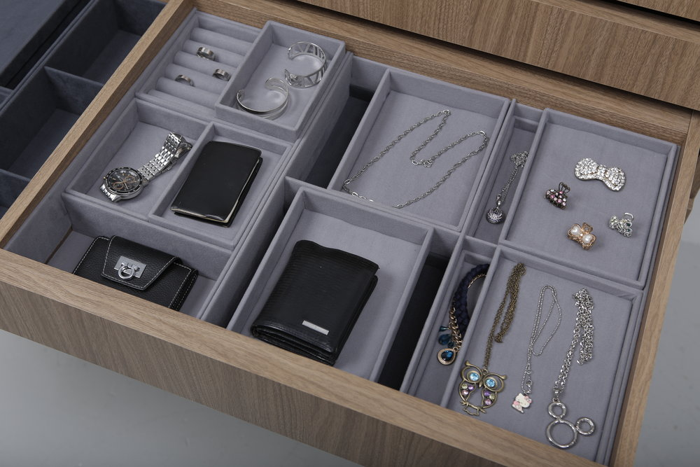 Long Multi-Layer Compartment Drawer