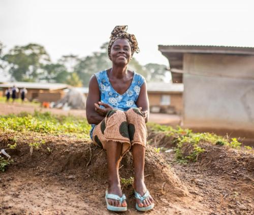 Elizabeth Seka, Cocoa Farmer