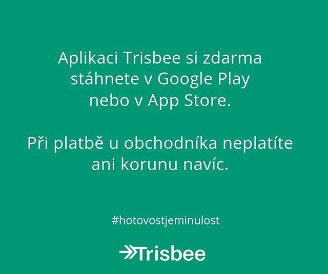 Facts about @trisbeecom - Aplikace Trisbee je pro vás zdarma! 😉⠀⠀⠀⠀⠀⠀⠀⠀⠀ .⠀⠀⠀⠀⠀⠀⠀⠀⠀ .⠀⠀⠀⠀⠀⠀⠀⠀⠀ . ⠀⠀⠀⠀⠀⠀⠀⠀⠀ #trisbee #fintech #appstore #googleplay #startup #czechstartup #czech #visa #mastercard #ios #android #future #changeyourmindset #paybyapp #paybyphone #paymentapp #payment #facts #phone #change #app #newmindset #business #czechrepublic #hotovostjeminulost