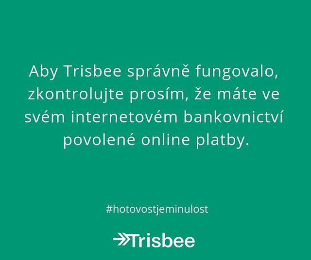 Facts about @trisbeecom - Nezapomeňte na povolené online platby! 😉⠀⠀⠀⠀⠀⠀⠀⠀⠀ .⠀⠀⠀⠀⠀⠀⠀⠀⠀ .⠀⠀⠀⠀⠀⠀⠀⠀⠀ . ⠀⠀⠀⠀⠀⠀⠀⠀⠀ #trisbee #fintech #appstore #googleplay #startup #czechstartup #czech #visa #mastercard #onlinepayment #ios #android #future #changeyourmindset #paybyapp #paybyphone #paymentapp #payment #facts #phone #change #app #newmindset #business #czechrepublic #hotovostjeminulost