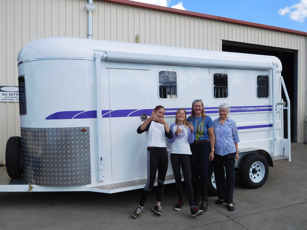 Tamworth 3HAL For sale…As new August 2018 Model - Katy has decided a 3 HAL (4 Horse Body) is a little too big for her needs. This float has everything you need including a side tack box, front kitchen and overhead storage, water tank, thermolite fibreglass tailgate, 100 amp battery, swing out saddle rack and all standard quality inclusions (see our Tamworth page)Tare 1770 kgATM 3200 kgWas $34, 235 Now $30, 500 As NewContact us for more pics etc on 07 5546-8727Available to see at our factory