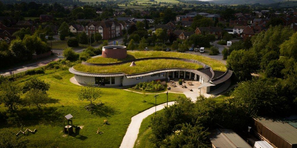 Shropshire hills discovery centre.