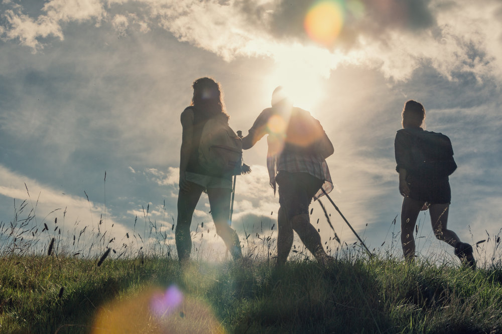 Walking in shropshire.