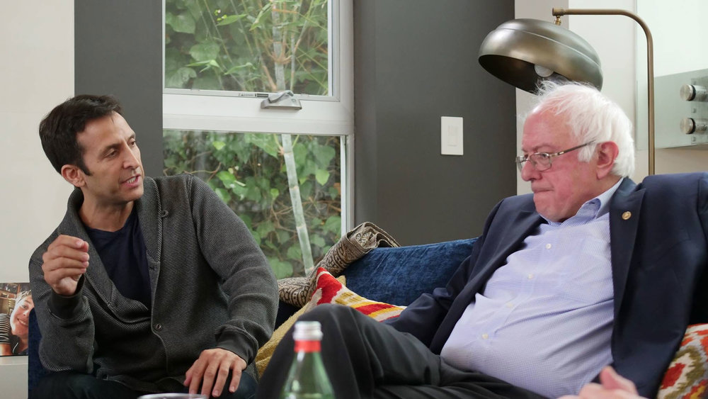 With Bernie Sanders