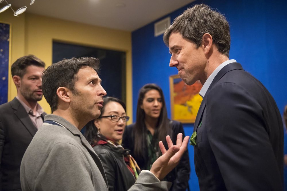 Wolfson with Beto O'Rourke