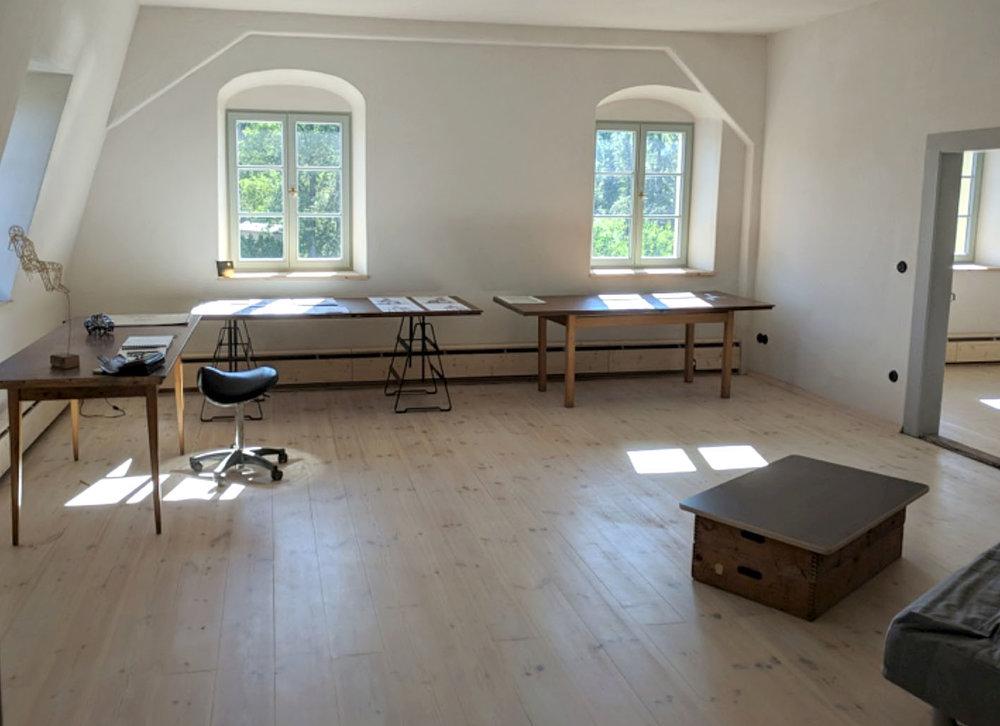 Atelier- und Ausstellungsraum II  in der O66. Foto © ORLA e.V.
