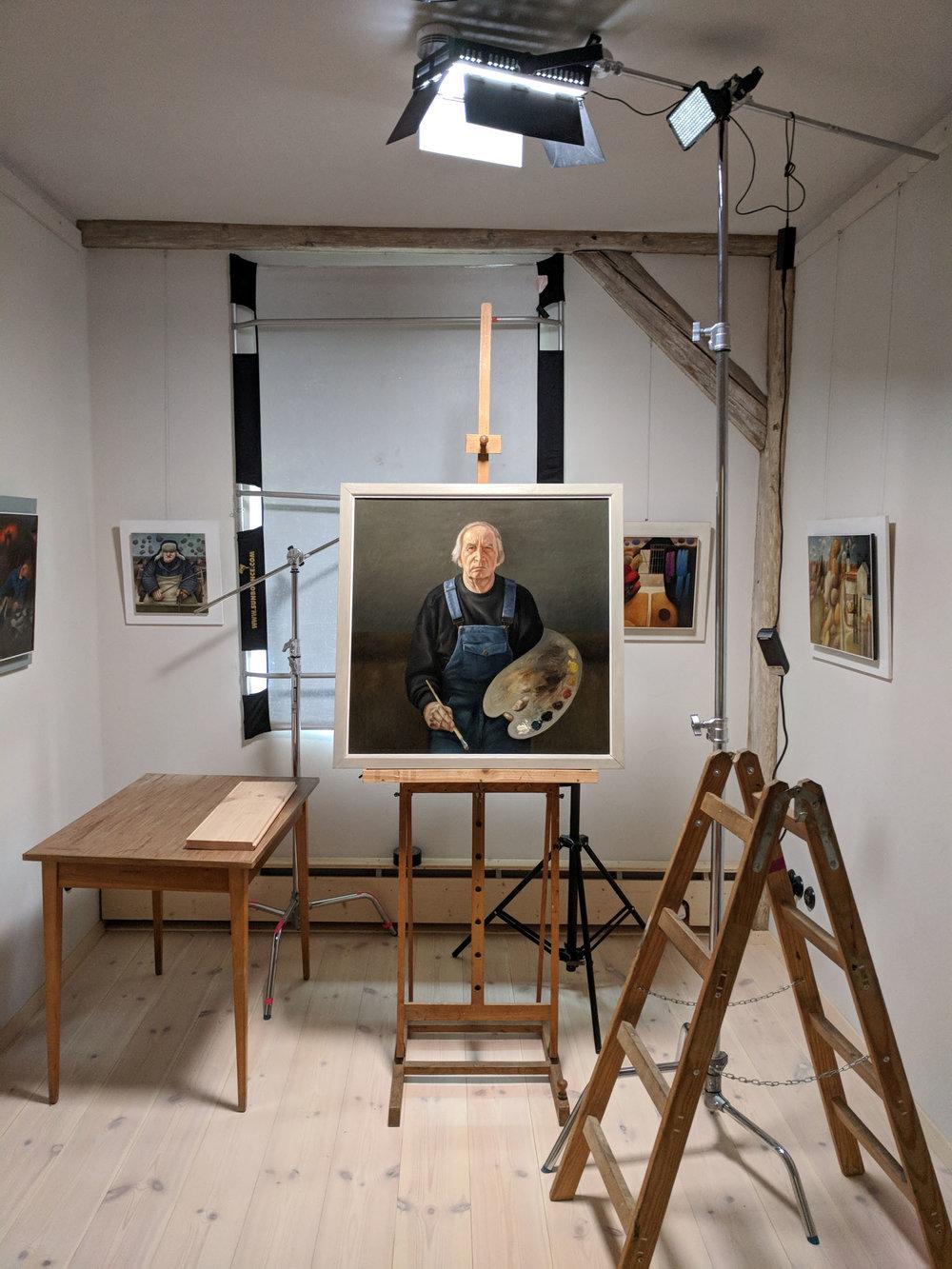 Atelier- und Ausstellungsraum IV in der O66. Foto © ORLA e.V.