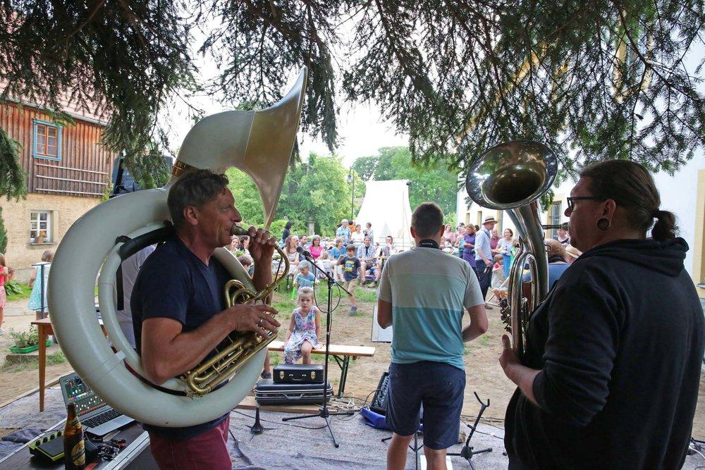 Erstes ORLA Kulturfest mit Radio Brassiv, 2018  Foto: Matthias Schumann © ORLA e.V.