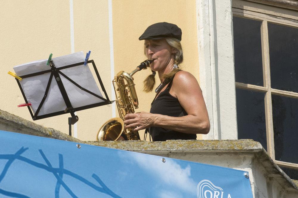 Barockschloss Wachau . Kulturprogramm des Wunder Land e.V. am 18. August 2018. Foto: René Plaul © ORLA e.V.