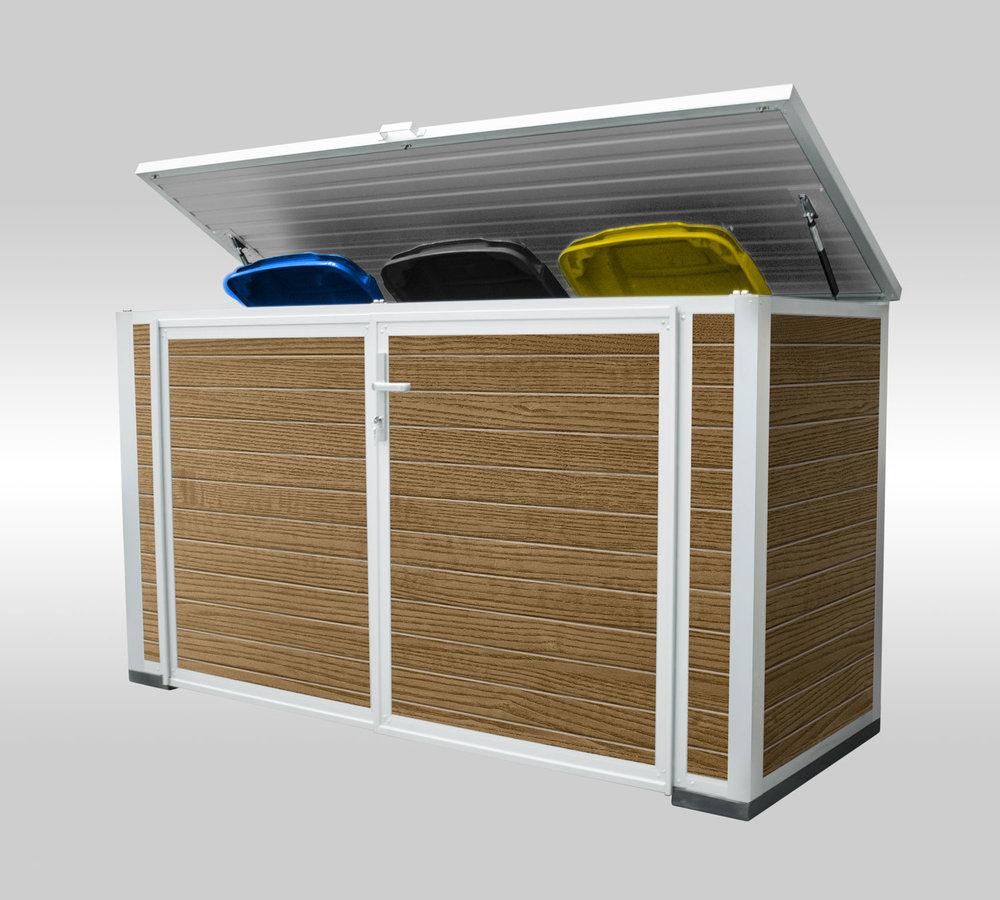 individuelle mülltonnenboxen — on spot manufaktur