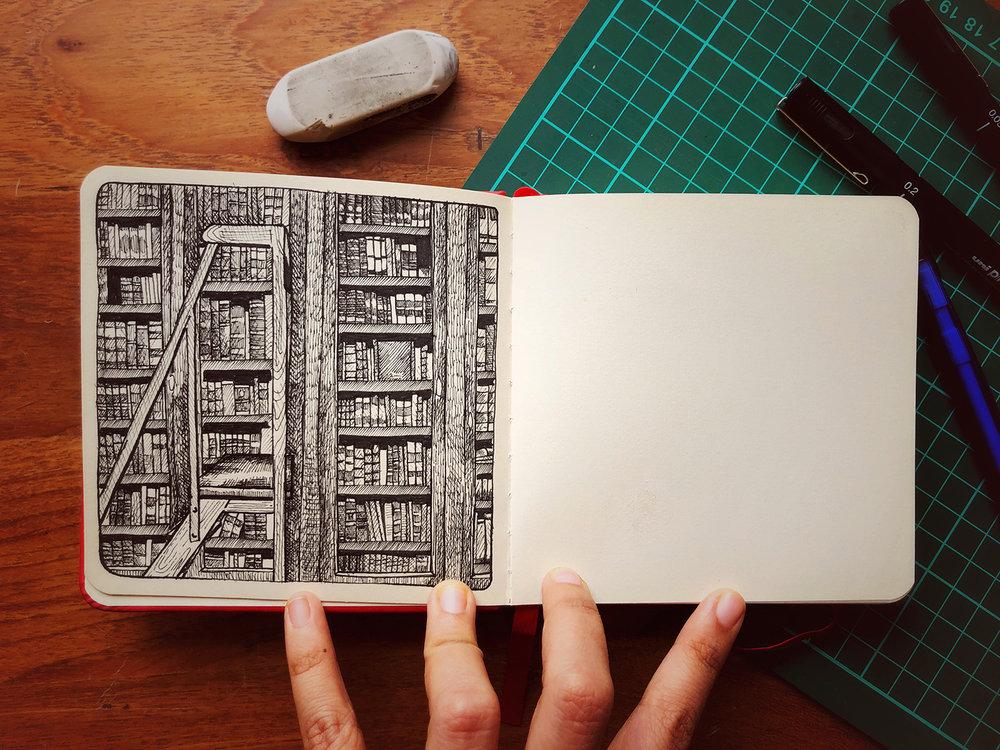 The original hand-written books of DON QUIXOTE | Biblioteca de Catalunya, Barcelona 2017