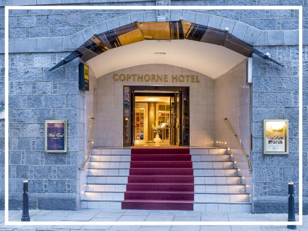 Copthorne Hotel, Aberdeen - 4* City Centre HotelA beautifully maintained historic building, the Copthorne Hotel Aberdeen is conveniently located in the west end of the City. Behind the granite façade you will find traditional charm combined with modern amenities and impeccable service.