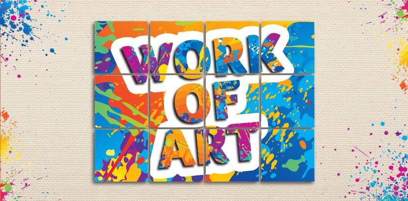 Work of Art Team Building Event