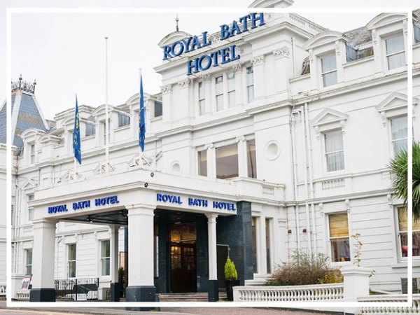 Royal Bath Hotel Bournemouth - 4* HotelUniquely positioned on the seafront, the Royal Bath Hotel first opened in 1838. Retaining many traditional features, the hotel is elegantly decorated and offers all the latest amenities, a superb choice for a top team build in Bournemouth!