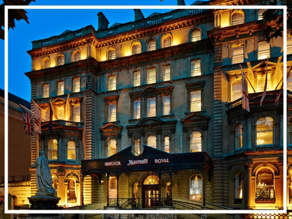 Bristol Marriott Royal Hotel - 4* Luxury HotelSituated on College Green next to Bristol Cathedral and adjacent to the Historic Waterfront, the Bristol Marriott Royal Hotel offers 21 meeting rooms each of which can be tailored to your exact specifications.