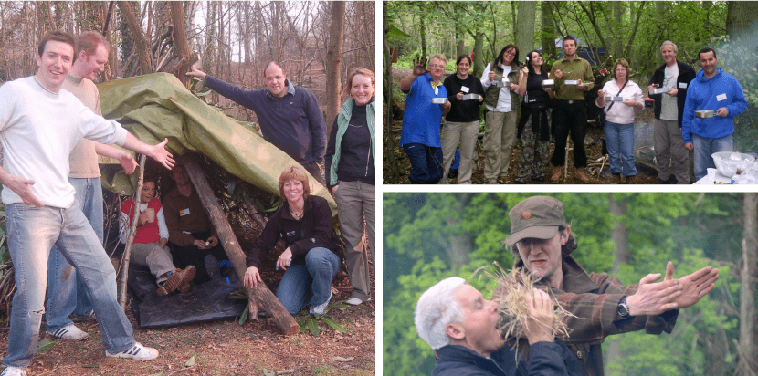 Bushcraft Team Building
