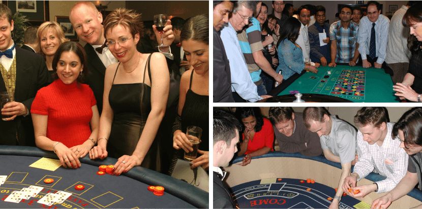 Casino Royale Team Building Photos
