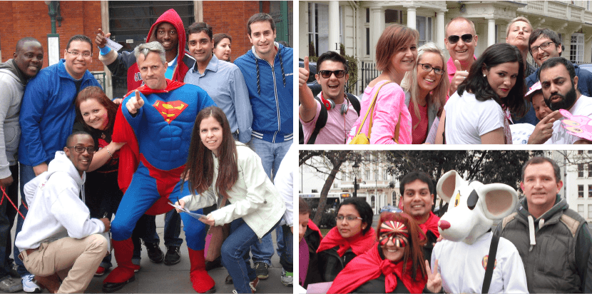 Superhero Adventure Team Building Photos