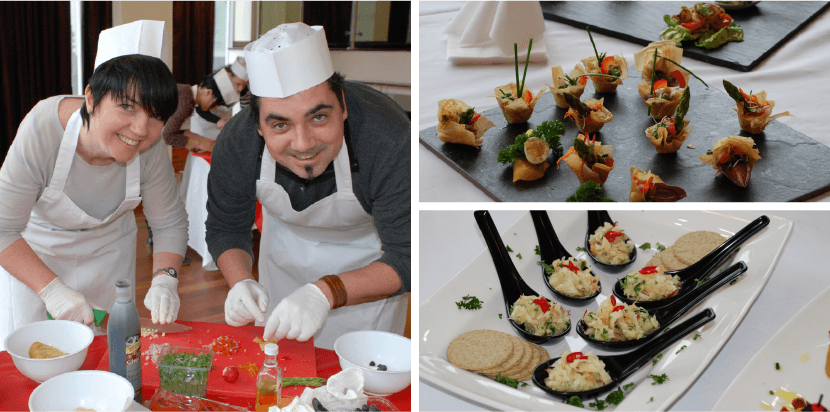 Canape Creations Team Building Photos