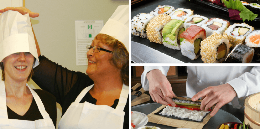 Go Sushi Team Building Event Photos