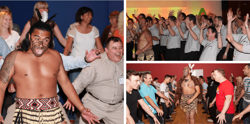 New Zealand Haka Team Building Event Photos