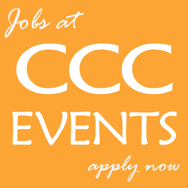 Jobs at CCC Events