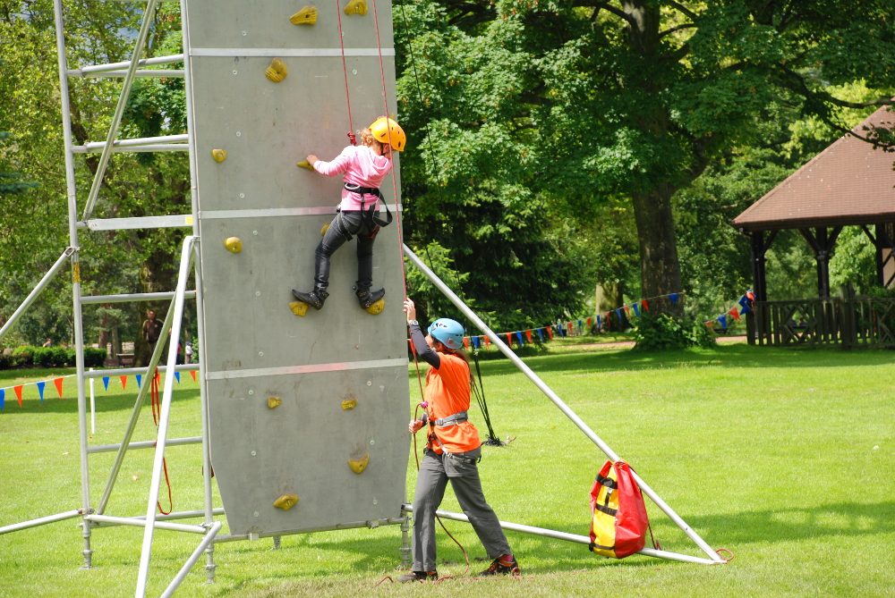 CCC climbing and abseiling events
