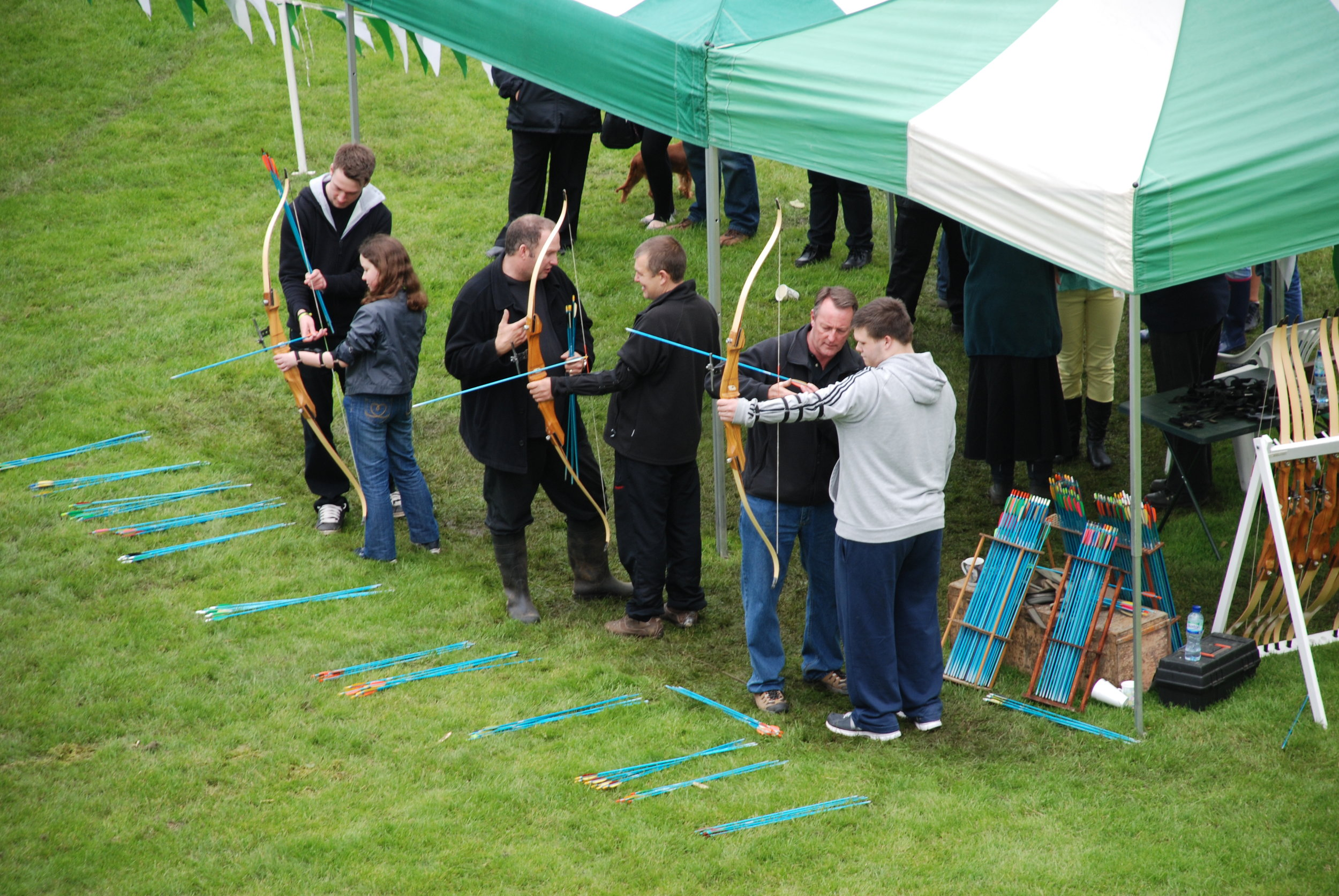 archery at CCC events