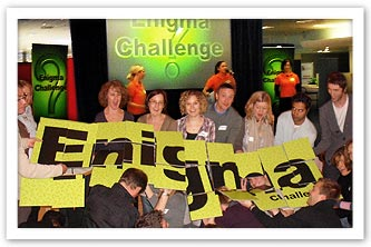 Indoor Team Building - Enigma Challenge