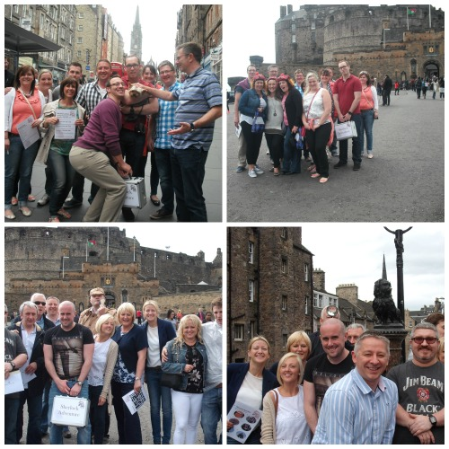 Team Building Treasure Hunts in Edinburgh - Sherlock Adventure