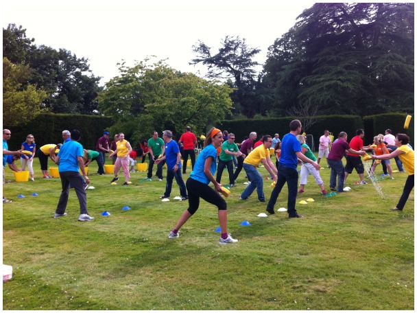 Team Building in Newbury - Sports Day at Elcot Park