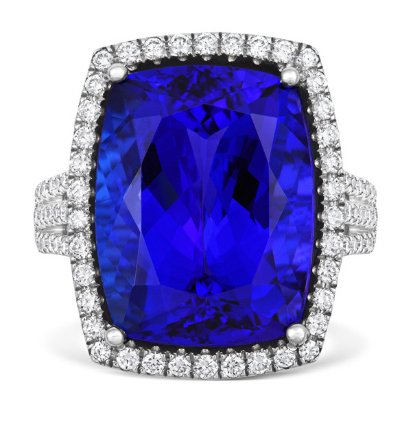 Royale Tanzanite and Diamond Ring