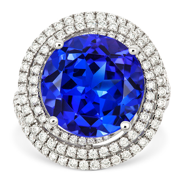 Royale Tanzanite Cocktail Ring