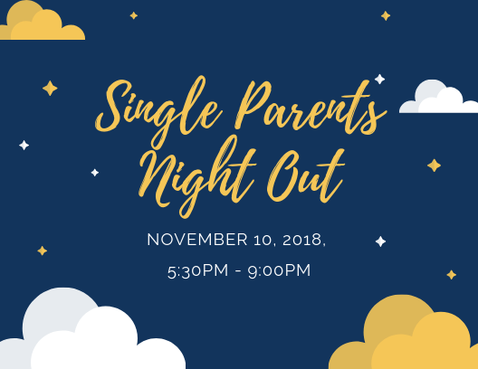 Single Parents Night Out - Need an evening without the kids?On November 10, Harrah Church Kids Ministry wants to give single parents the chance to take a break. Enjoy a night out while HC Kids Ministry volunteers treat your kids to an evening of fun!Register your child here!